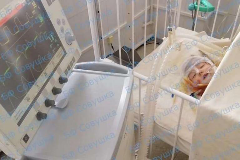 В Марганце полуторагодовалая девочка обварилась в ванночке с кипятком. Нужна помощь!
